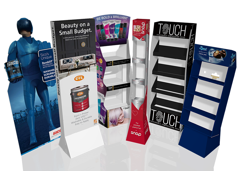 Corrshop corrugated displays