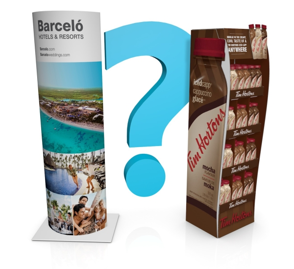Why choose corrugated displays